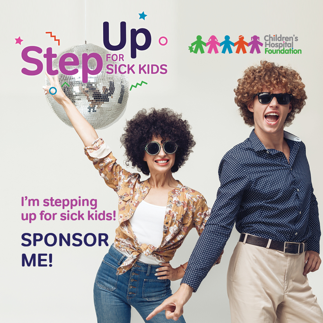 80's Funk - I'm Stepping Up for Sick Kids