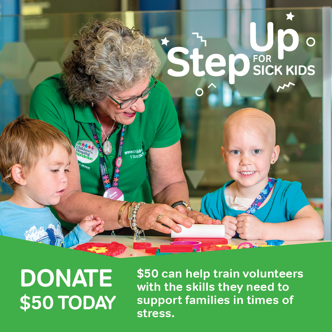 Step Up for Sick Kids $50 Donation