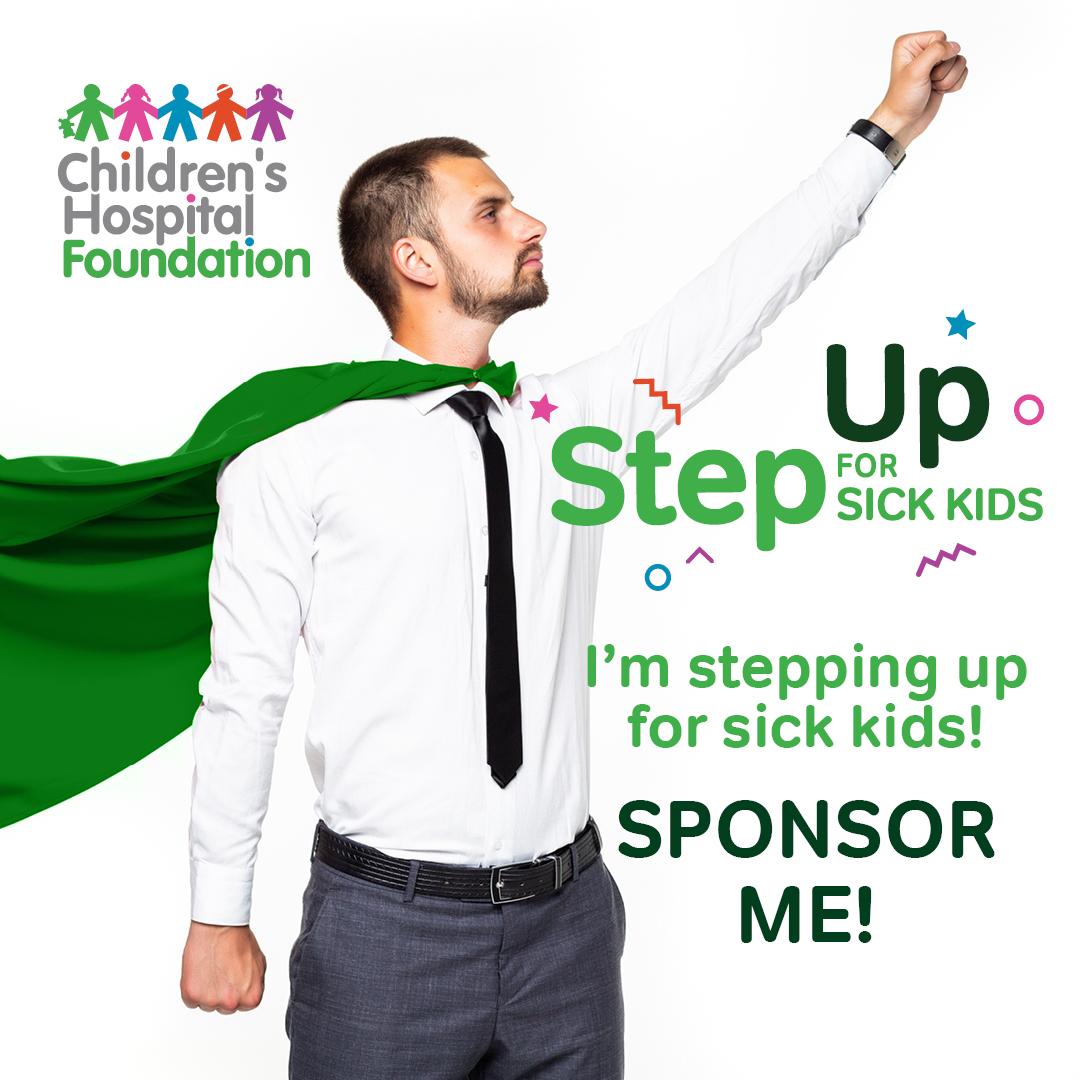Superman - Step Up for Sick Kids