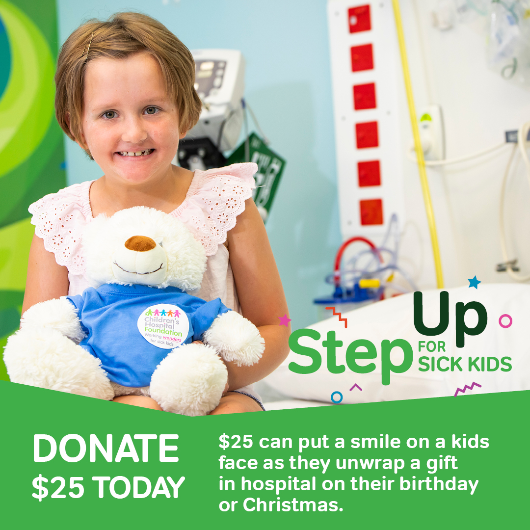 Step Up for Sick Kids $25 donation