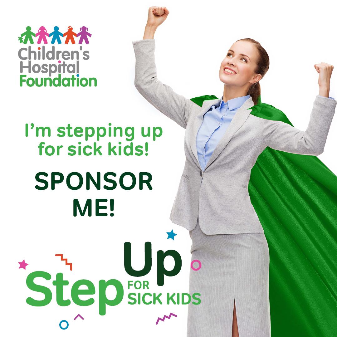 Superwoman - Step Up for Sick Kids