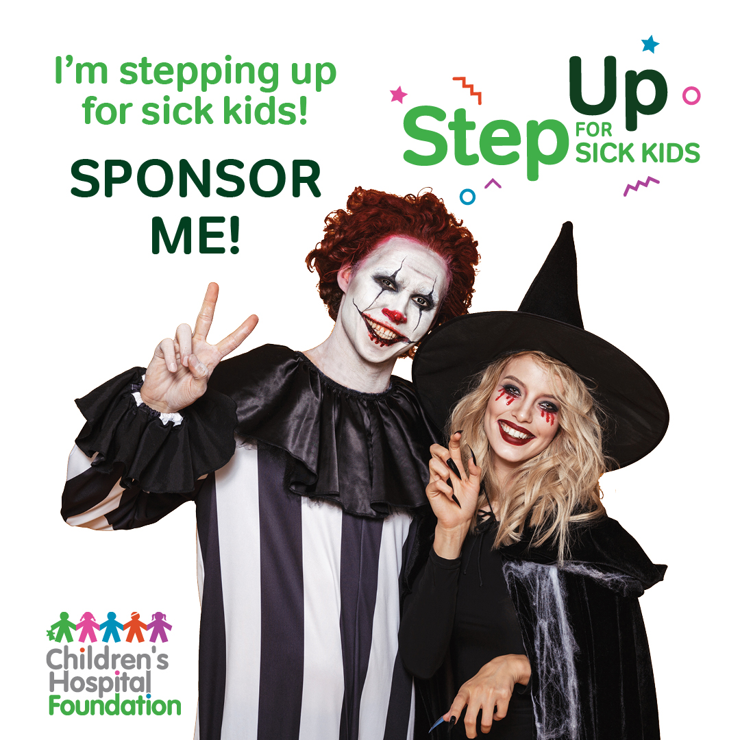 Step Up for Sick Kids - Halloween